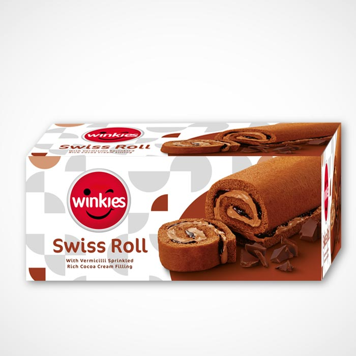 Swiss Roll Cake Packaging